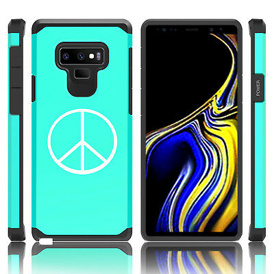 $ CDN19.99 • Buy For Samsung Galaxy Note 8 9 Shockproof Hard Case Cover Peace Sign