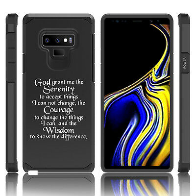 $ CDN20.10 • Buy For Samsung Galaxy Note 8 9 Shockproof Hard Case Cover Serenity Quote