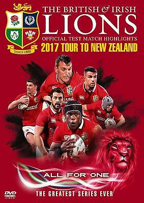 £10.99 • Buy British & Irish Lions Official Test Match Highlights 2017 Tour To New Zealand (D