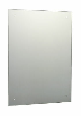 £1.90 • Buy Frameless Unframed Bathroom Mirror With Pre Drilled Holes & Wall Hanging Fixings