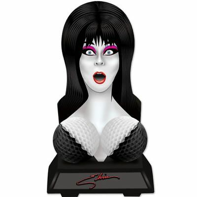 $ CDN7.85 • Buy Elvira Queen Of Halloween Bust Centerpiece 16  X 9  Paper Halloween Decorations