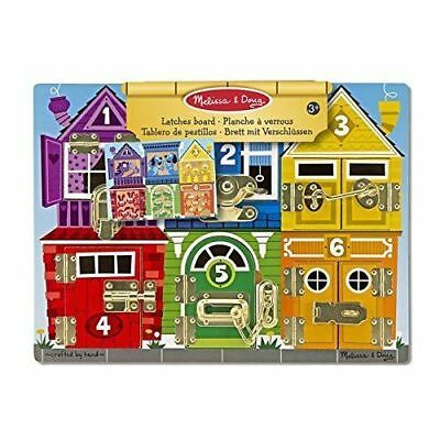£18.35 • Buy Latches Board Kids Toy - Educational Wooden Latches Board - Melissa & Doug 13785