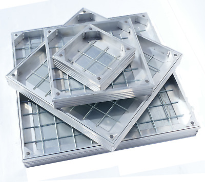 DS-Line-60 Aluminium 60mm Depth Double Sealed Recessed Manhole Cover - ALL SIZES • 149.22£