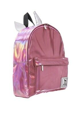 AU34.95 • Buy Pink Hologram Unicorn Backpack, Cool School Backpack