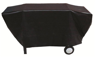 AU24.90 • Buy BQC033 65x205cm; Economy Flat Topped 4-6 Burner BBQ Cover; Black