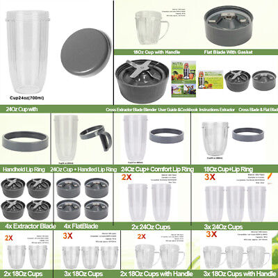AU39.99 • Buy Nutribullet Replacement Parts Cup Lid Blade Suits 600W & 900W Models