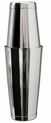 Mezclar Boston Cocktail Shaker Stainless Steel Tin On Tin 18oz & 28oz Cans • 7.70£