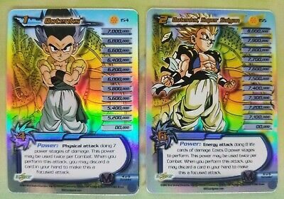 AU42.64 • Buy Dragon Ball Z DBZ CCG Score Super Saiyan Gotenks 154+155 Uber Rare 7 Star Set