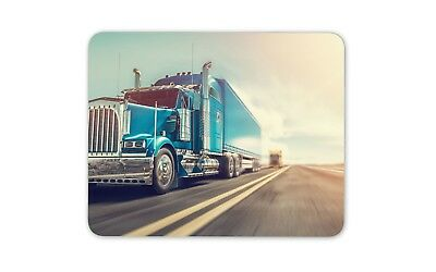 £4.99 • Buy Cool American Truck Mouse Mat Pad - HGV Trucker Lorry Driver Dad Gift #15310