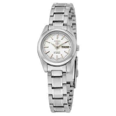 $ CDN80.44 • Buy Seiko 5 Automatic Silver Dial Stainless Steel Ladies Watch SYMK13