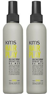 AU51.95 • Buy Kms Hairplay Sea Salt Spray 200 Ml X 2 Hair Play