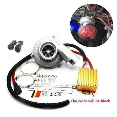 $ CDN637.32 • Buy Electric Turbo Supercharger Air Filter Intake For Car Improve Speed Fuel Saver