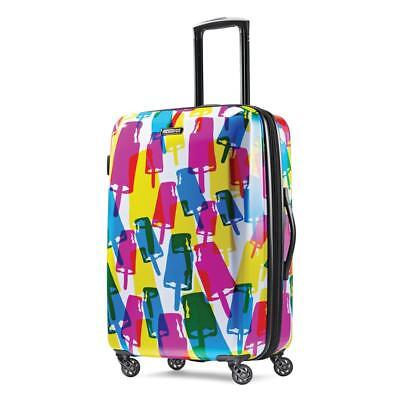 View Details Luggage Suitcase American Tourister Travel Large Hard Case Spinner Kids Luggage • 129.00$