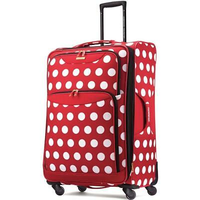 View Details Luggage Suitcase American Tourister Travel Large Cute Rolling Womens Luggage New • 139.00$