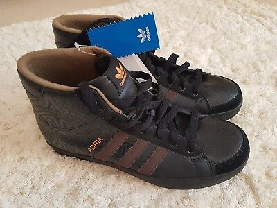 Ladies Girls Adidas Trainers Size 7.5uk Adria CK Mid W Originals Brand New Tags • 50£