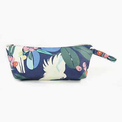 AU45 • Buy NEW Moreton Bay Fig & Cockatoo Makeup Purse In Navy Women's By 4 Leaf Clover