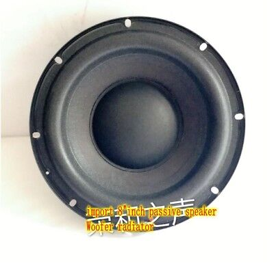 $ CDN50.64 • Buy 2ps Import 8 Inch Passive Speaker Bass Radiator Auxiliary Woofer Home Audio Part