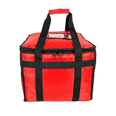 Hot Food Pizza Takeaway Restaurant Delivery Bag Thermal Insulated 38x38x32cm • 28.95£