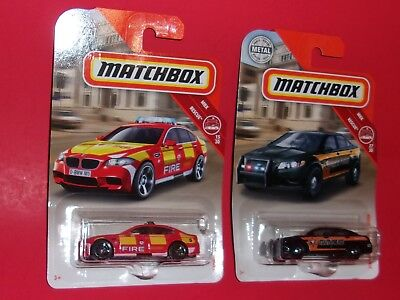 $3.29 • Buy  Matchbox BMW M5 FORD SEAGRAVE MBX Rescue  U PICK  POLICE FIRE