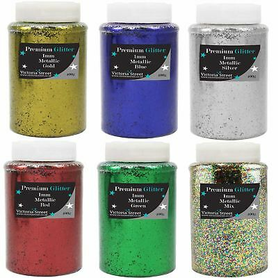 1mm Cut XL Chunky Glitter Shakers Or Bags - School Crafts Premium Grade 0.040 • 12.99£