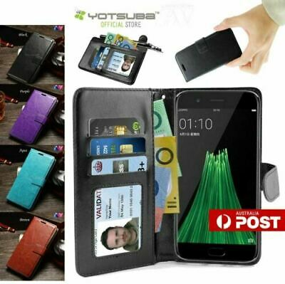 AU6.69 • Buy OPPO R11 R11S Plus Premium PU Leather Flip Wallet Card Case Cover Stand For Oppo