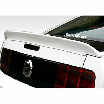 $169 • Buy Circuit Wing Trunk Lid Spoiler 1 Piece Fits Ford Mustang 05-09 Duraflex