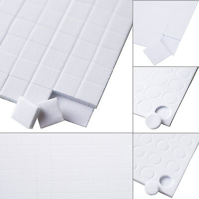 £1.99 • Buy DOUBLE SIDED ADHESIVE FOAM PADS 5mm 6mm 10mm 15mm STICKY FIXERS FOR CARD CRAFT