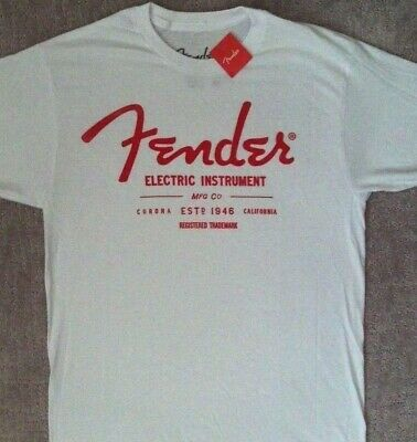 75c8a5a00 Fender Guitar Classic Trademark T Shirt_ New With Tags_ Officially Licensed  • 14.95$