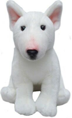 £27.95 • Buy Gift Wrapped English Bull Terrier Quality Cuddly 12  Toy Dog + Personalised Tag