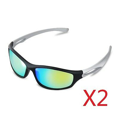 2-Pack IPower Indoor Hydroponics LED Grow Room Light Glasses Goggles Anti UV • 19.10£