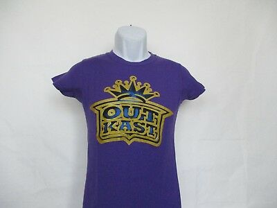 $20 • Buy Outkast Gold Crown Logo T-Shirt - Purple Junior Sizes Small - X-Large NEW