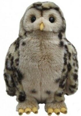 £26.95 • Buy Gift Wrapped Tawny Owl 12  Cuddly Realistic Toy With Collar And Personalised Tag