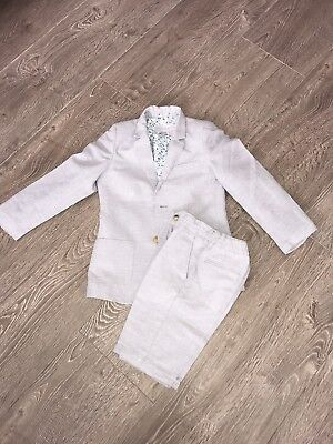 £50 • Buy Boys Smart Outfit 2 John Lewis Heirloom Boys Short Suits X Bought For My Wed