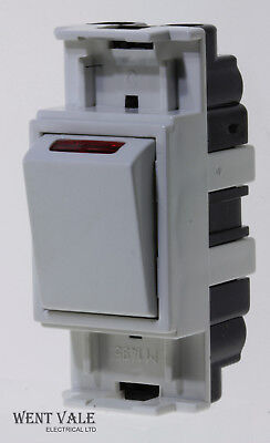£25.15 • Buy MEM Spectra - F8025 - 20a Double Pole Grid Switch With Power Indicator Unused