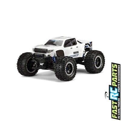 AU187.15 • Buy PRO3513-17 Pre-Cut Brute Bash Armor Body (White) For X-Maxx Pro-Line