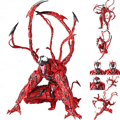 6  Yamaguchi Marvel Carnage Red Venom PVC Action Figure Model Toys Collections • 17.66£