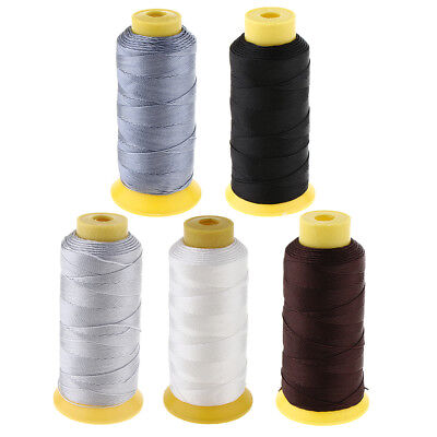 £4.45 • Buy 200 Meters Heavy Duty Bonded Nylon Threads 210D/12 For Upholstery Canvas Leather