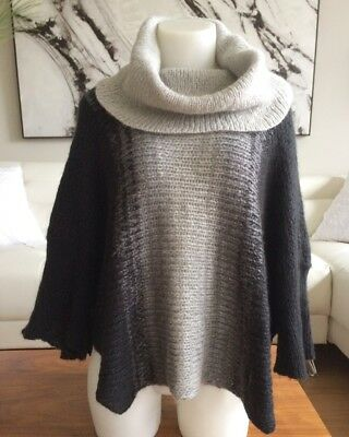 $ CDN49.99 • Buy ANTHROPOLOGIE WOODEN SHIPS Wool Cape Cowl Neck Pullover Sweater Small/Medium