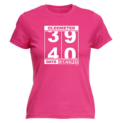Funny Novelty Tops T-Shirt Womens Tee TShirt - Oldometer 3940 Days • 7.96£