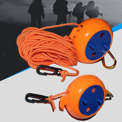 2x Windproof Clothesline Outdoor Travel Retractable Rope Washing Line Orange • 8.34£