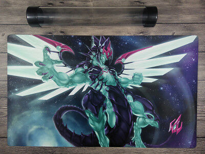 AU32.37 • Buy YuGiOh Galaxy-Eyes Photon Dragon Custom Playmat Trading Card Game Mat Free Tube
