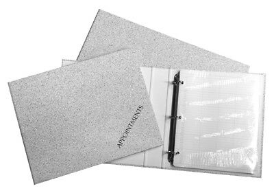 Salon Appointment Ring Binder Book Pad Nails, Beauty, Hair, Sunbeds 4,6,9 Column • 10.99£