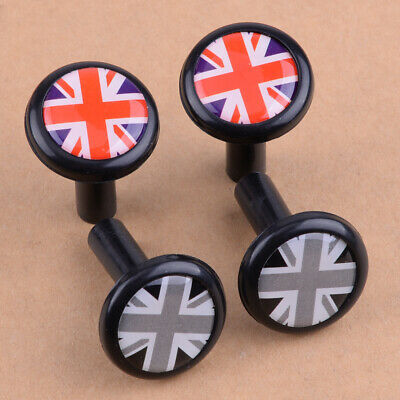 1 Pair Car Union Jack UK Flag Style Modified Door Lock Pin Fit For Mini Cooper • 5.45£