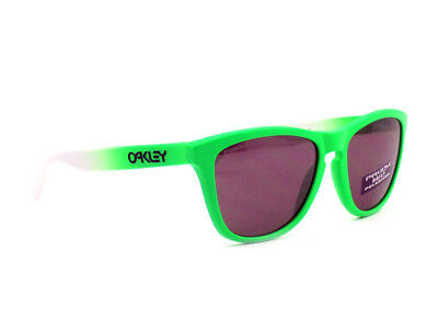 $68 • Buy Oo9013-99 Oakley Sunglasses Frogskins Green Fade Prizm Daily Polarized