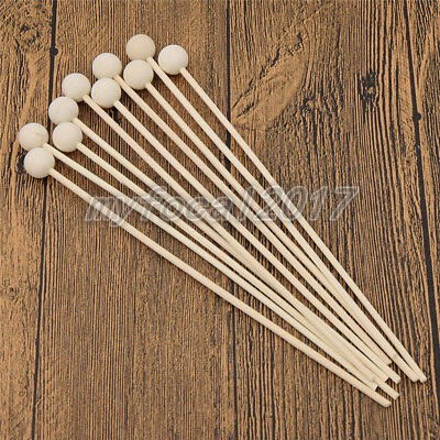 AU1.86 • Buy 10x Wood Ball For Fragrance Diffuser Aromatherapy Rattan Reed Sticks Home Decor