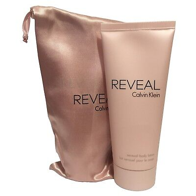 Calvin Klein Reveal Sensual Body Lotion For Women 100ml With Pouch • 11.99£