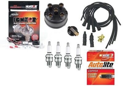 $165 • Buy Electronic Ignition & Tune Up Kit IH Farmall A B BN C H HV M MV W4 W6 Tractor