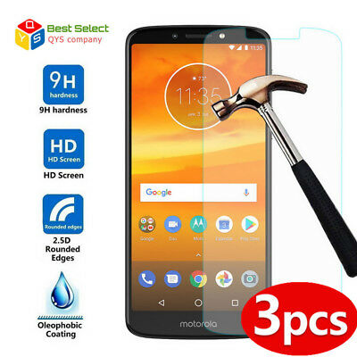 AU3.56 • Buy For Motorola Moto E4 Plus G6 Plus G5S 3PCS XTempered Glass Screen Protector Film