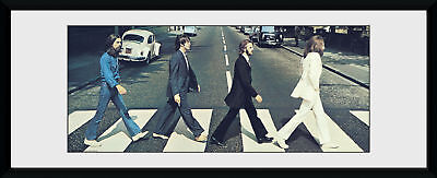 £20.28 • Buy The Beatles Abbey Road Tracks Framed Collector Print 75x30cm | 12x30