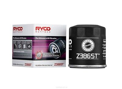 AU20.95 • Buy Ryco Syntec Oil Filter Z386ST Fits Toyota Corsa 1.5 (EL43)